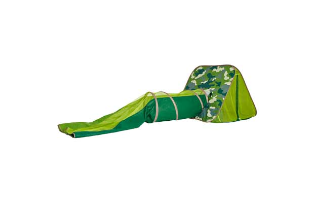 Chad Valley Camouflage Explorer Play Tent And Tunnel