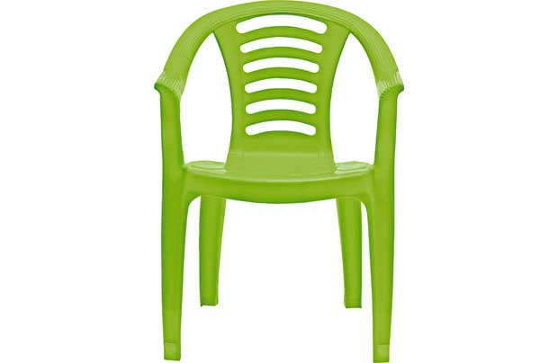 Chad Valley Childrens Plastic Chair Green