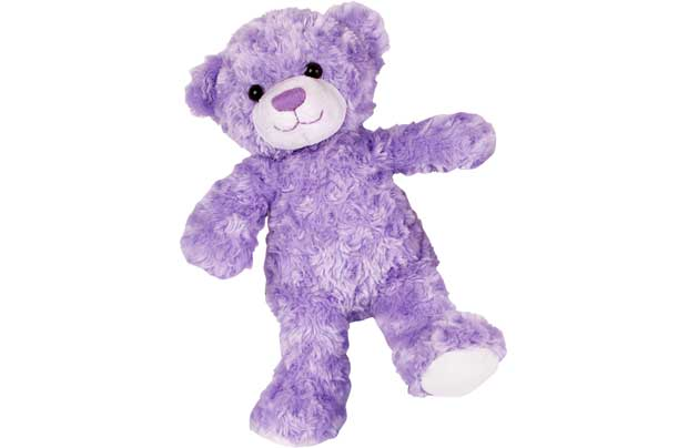 Chad Valley Designabear Lilac Bear Soft Toy