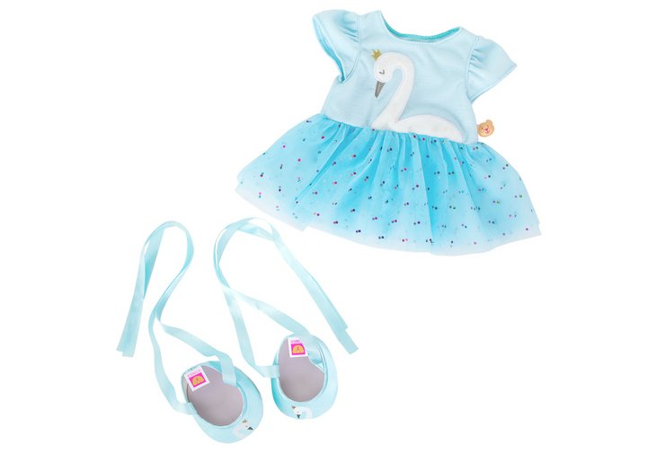 Chad Valley Designabear Swan Lake Ballet Outfit