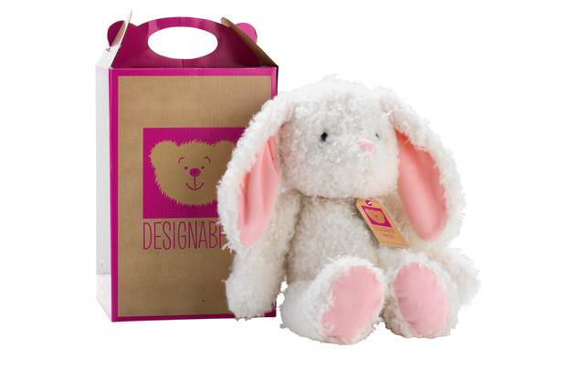 Chad Valley Designabear White Bunny Soft Toy