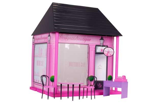 Chad Valley Designaboutique Cafe Boutique Playset