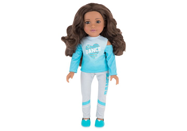 Chad Valley Designafriend Charlie Wavy Hair Doll