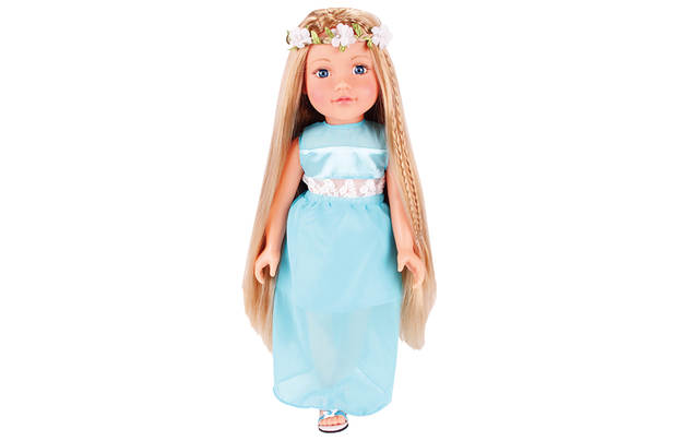 Chad Valley Designafriend Charlotte Doll With Long Hair