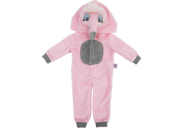 Chad Valley Designafriend Flamingo Onesie