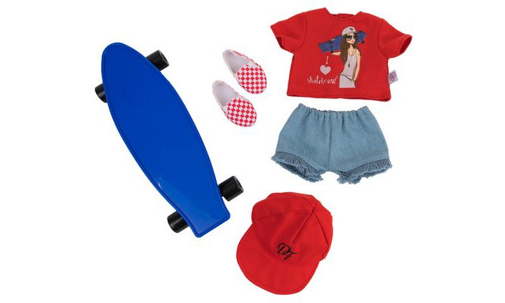 Chad Valley Designafriend Skateboarder Outfit