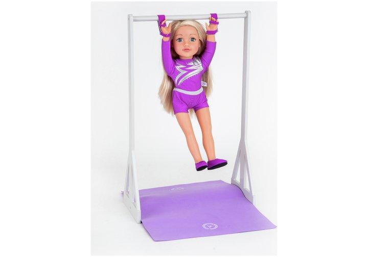 Chad Valley Designafriend Wooden Gymnast Furniture Set