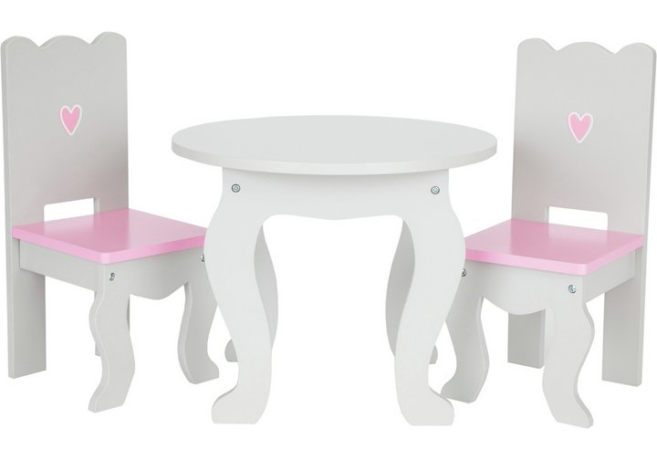 Chad Valley Designafriend Wooden Table and Chairs