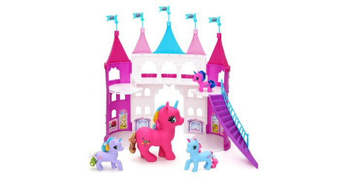 Chad Valley Dream Kingdom Large Unicorn Castle Playset