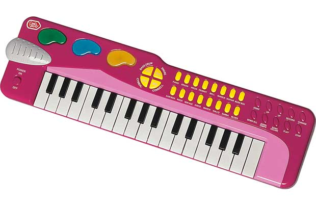 Chad Valley Electronic Keyboard Pink