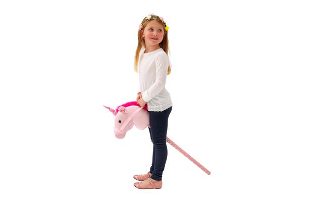 Chad Valley Interactive Unicorn Hobby Horse