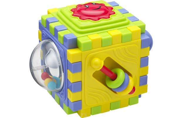 Chad Valley Interlocking Activity Cube