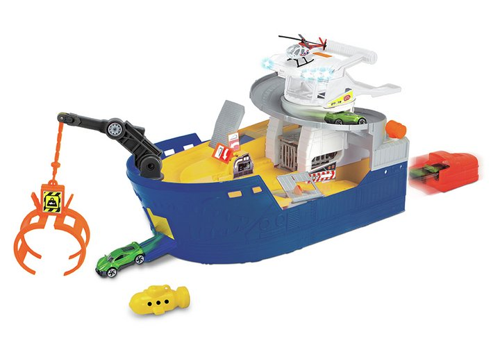 Chad Valley Lights and Sounds Shark Attack Playset