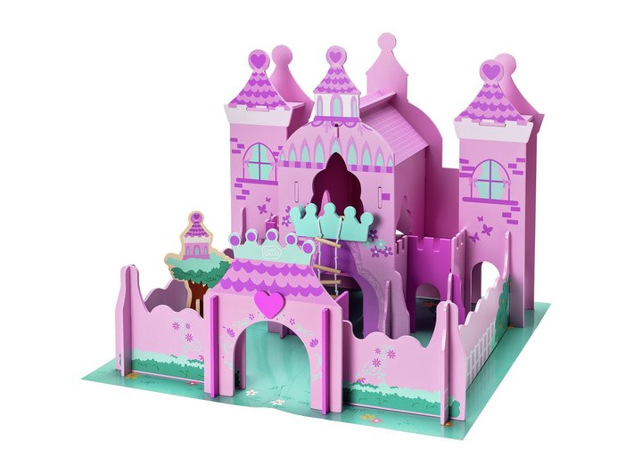 Chad Valley Magical Wooden Castle