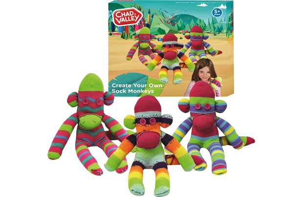Chad Valley Make And Create Sock Monkeys