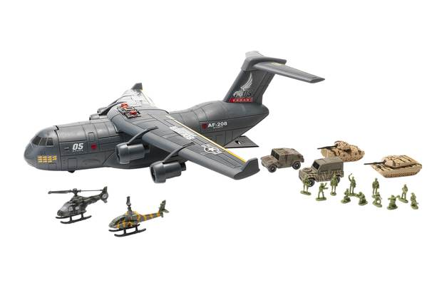 Chad Valley Military Aircraft C17 Playset
