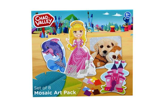 Chad Valley Mosaic Set 8 Pack