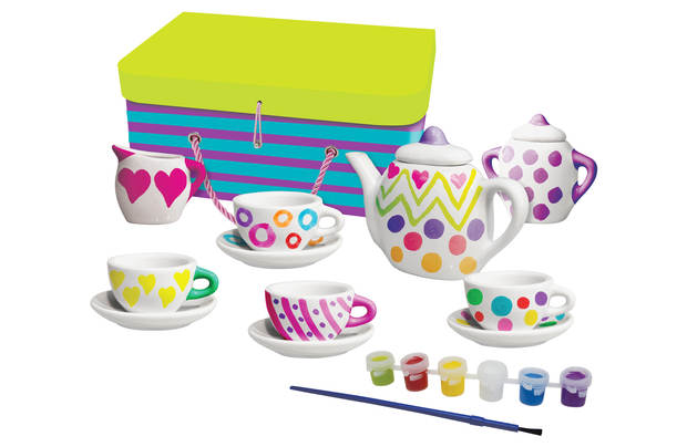 Chad Valley Paint Your Own Tea Set