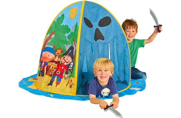 Chad Valley Pirate Island Play Tent