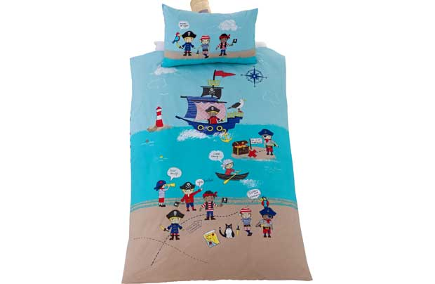 Chad Valley Pirates Bedding Set Single