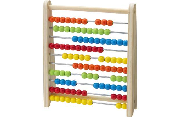Chad Valley Playsmart Wooden Abacus