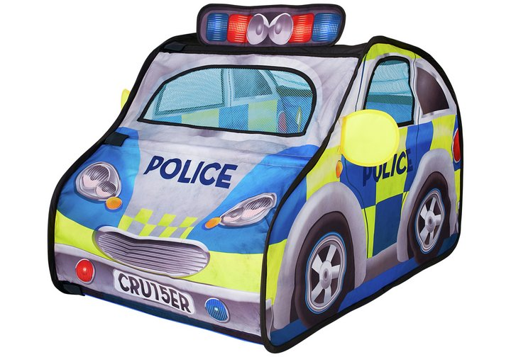 Chad Valley Police Car Pop Up Play Tent Set