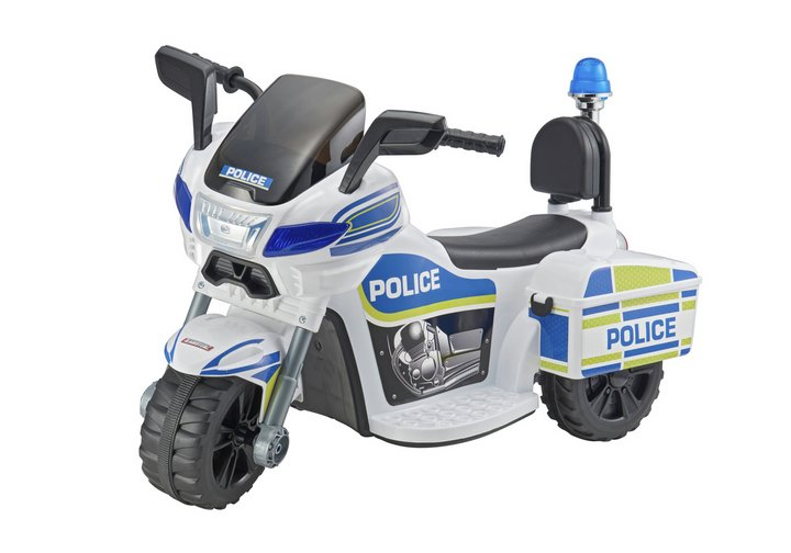 Chad Valley Police Trike 6V Powered Ride On