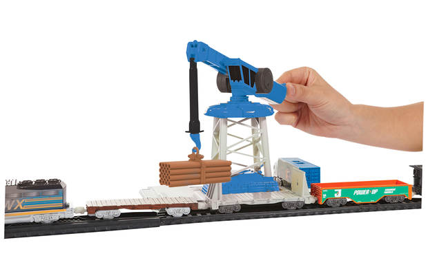 Chad Valley Power City And Crane Set