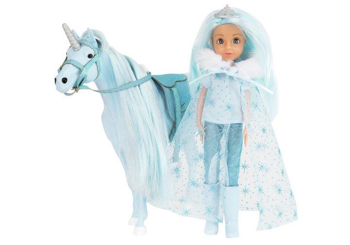 Chad Valley Princess & Snowflake Unicorn