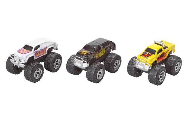 Chad Valley Pull And Go Monster Cars