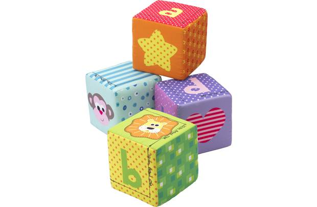 Chad Valley Set Of 4 Activity Cubes