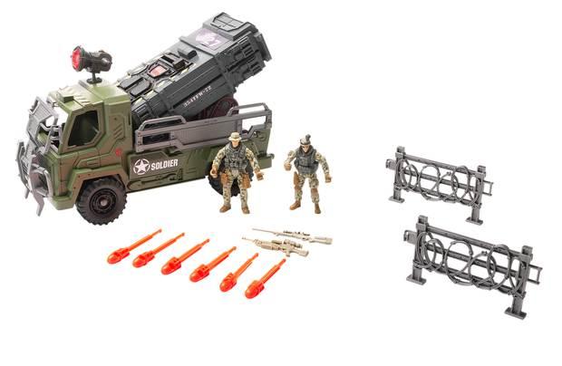 Chad Valley Soldier Viii Heavybone Rocket Launcher
