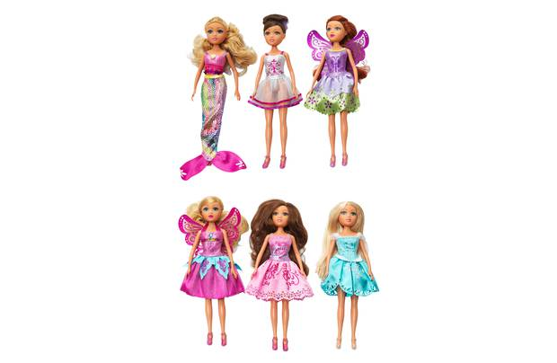 Chad Valley Star Girls Fantasy Doll Collection