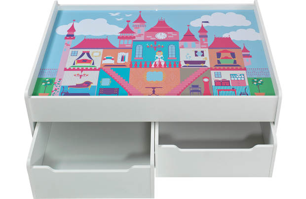 Chad Valley Storage Play Table Castle
