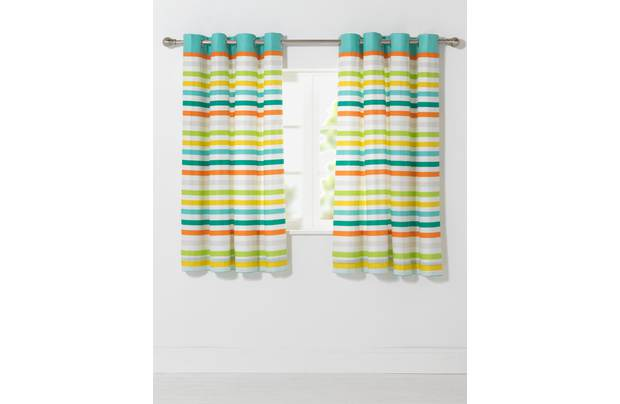 Chad Valley Stripe Lined Curtains