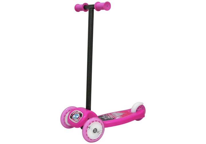 Chad Valley Tilt and Turn Folding Scooter - Pink