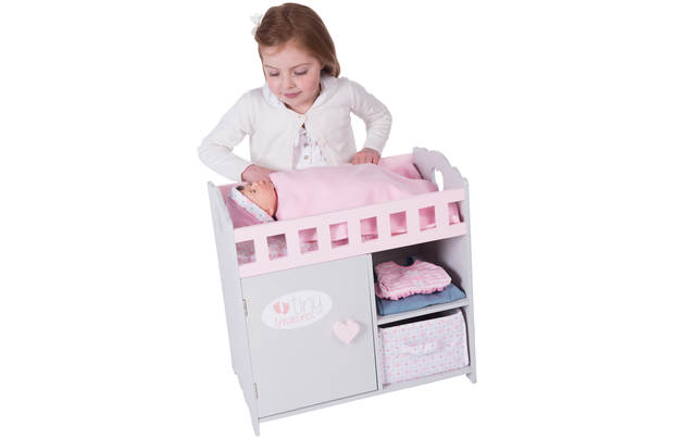 Chad Valley Tiny Treasures Bed And Changing Unit