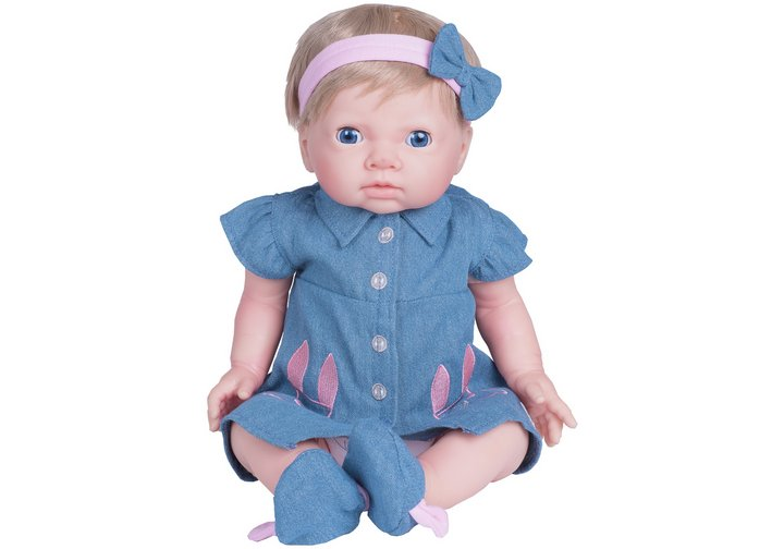 Chad Valley Tiny Treasures Bunny Pocket Dress Outfit