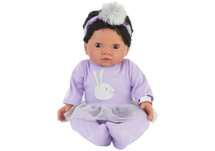 Chad Valley Tiny Treasures Doll with Lilac Outfit
