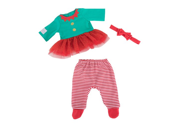 Chad Valley Tiny Treasures Elf Tutu Outfit