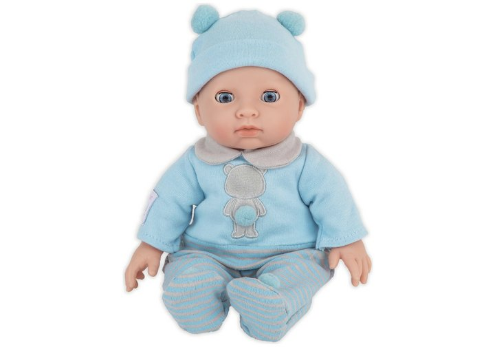 Chad Valley Tiny Treasures My First Baby Blue Outfit