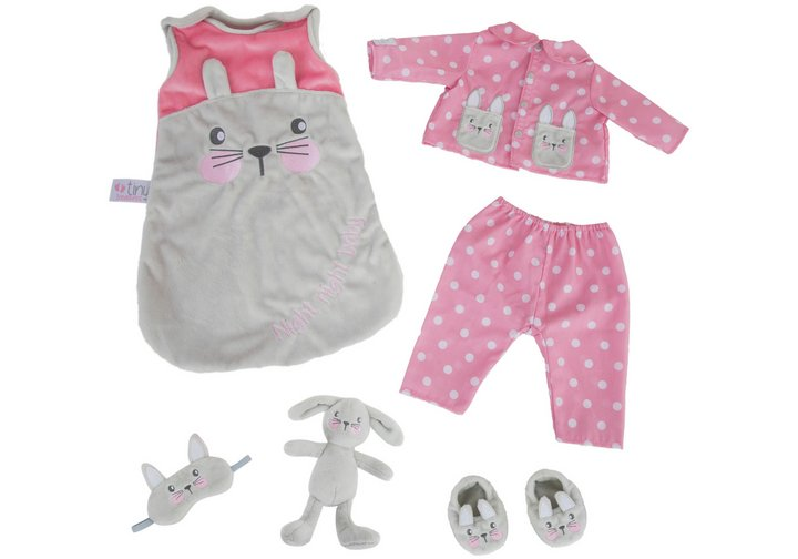 Chad Valley Tiny Treasures Sleeptime Bunny Pyjamas