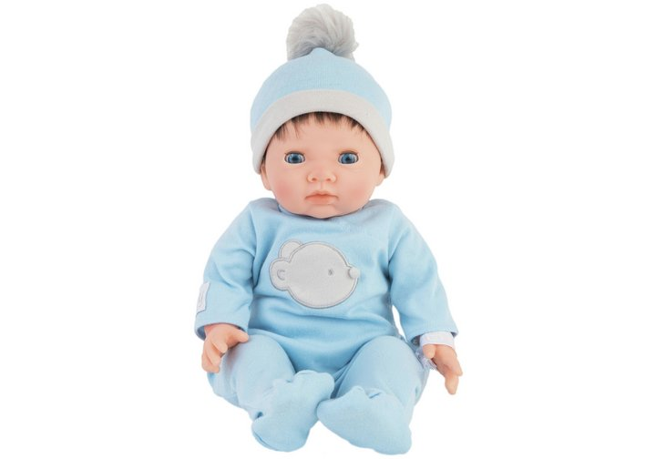 Chad Valley Tny Treasures Doll with Blue Outfit