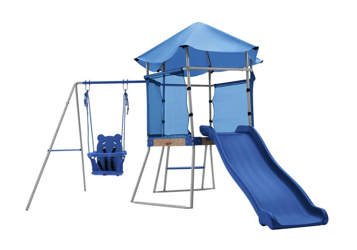 Chad Valley Toddler Swing, Climber and Slide
