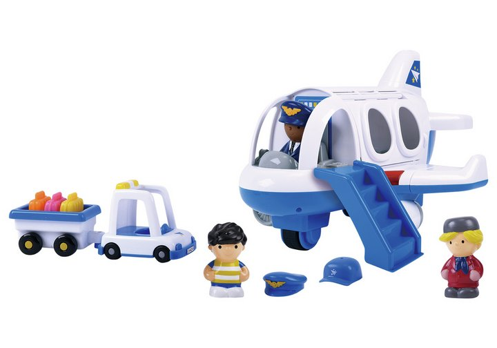 Chad Valley Tots Town Aeroplane Set