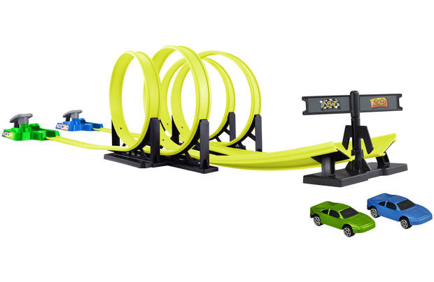 Chad Valley Twin Turbo Looping Track Set