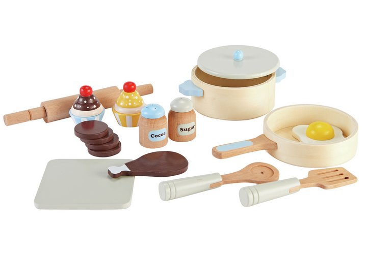 Chad Valley Wooden Cooking Set