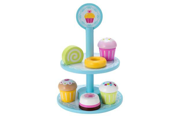 Chad Valley Wooden Cupcake Stand