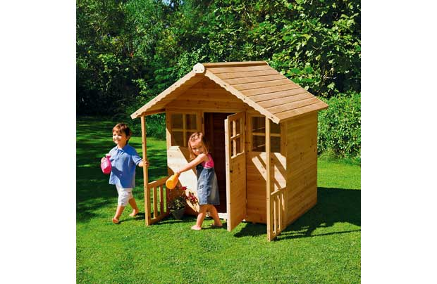 Chad Valley Wooden Playhouse