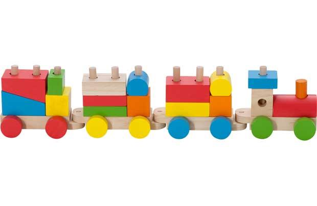 Chad Valley Wooden Stacking Train